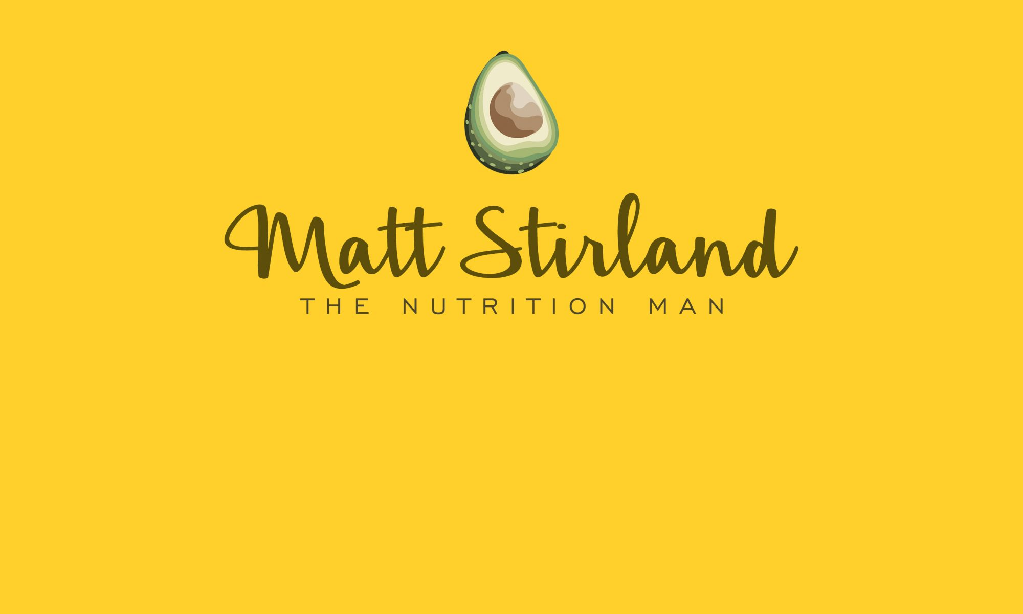 Matt Stirland #TheNutritionMan